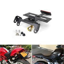 LED License Plate Bracket Holder Kit For Ducati Monster 900 / 900 Dark 1993-2005