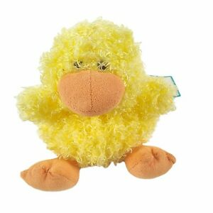 """Jellycat Mini Pudding Duck Chick Plush 6"""" Yellow Small Stuffed Animal Tags Rare"""