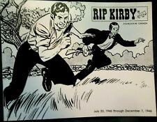 Rip Kirby Album July 23, 1946 -December 7, 1946 By Alex Raymond Excellent Cond!