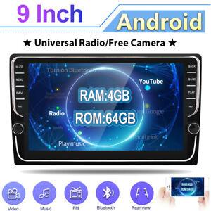 "9"" IPS New Android 10.0 Car Radio Stereo NAVI Head unit GPS OBD BT WIFI 4GB+64GB"