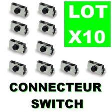 10 Switch Bouton Interrupteur pour Clé de Voiture Télécommande Plip PEUGEOT GZ®