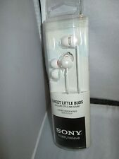 SONY MDREX33LP Earbuds Headphone: MDR-EX33LP White