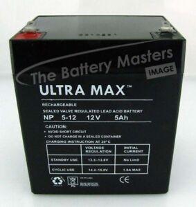 Razor Jr. Electric Wagon Ride-on 12V 5Ah Replacment Ultramax Toy Car Battery