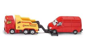 Siku 1667 - Scaina Breakdown Truck with Mercedes Van - approx Scale 1:95 H0