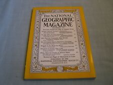 VINTAGE NATIONAL GEOGRAPHIC December 1955 ICELAND TO ANTARCTICA Petra DENMARK