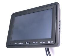 """SDC SDC-V7 7"""" 18cm LCD TFT PC Monitor mit VGA Rahmen + 2 Jahre Sofort Austausch"""