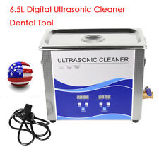 65l Ultrasonic Cleaner Heating Bath Metal Hardware Fuel Stainless Nail Dental