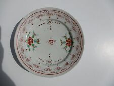 ASSIETTE PORCELAINE CHINE XX°