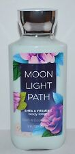 NEW BATH & BODY WORKS MOONLIGHT PATH LOTION CREAM SIGNATURE SHEA VITAMIN E 8 OZ