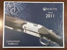 2011 Catalogo Armi PIETRO BERETTA