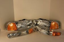 1999-2007 GMC K3500 HEADLIGHTS & BLINKER MARKERS 4 PCS
