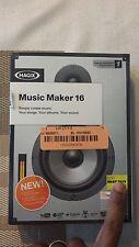 Magix Music Maker 16 (Digital Music Editor) Windows Vista / XP / 7 - EUC!