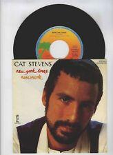 45 RPM SP CAT STEVENS NEW YORK TIMES