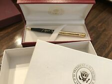 President George W Bush 43 Gift Alexander Ball Point Pen Seal  White House VIP