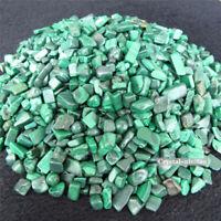 100g Tumbled Natural Malachite Stones Gemstones Reiki Healing bulk mini Crystal
