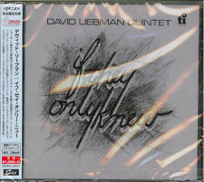 DAVID LIEBMAN-IF THEY ONLY NEW-JAPAN CD B63