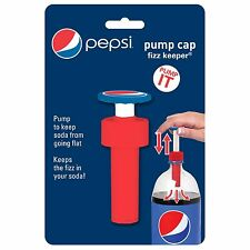 Jokari Pepsi Modern Soda Bottle Pump Cap Fizz Keeper