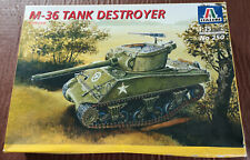 Italeri 250 M-36 Tank Destroyer in 1:35 scale.