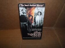 NEW The Hand That Rocks Cradle VHS *1st Edition* Original 1992 Hollywood Picture