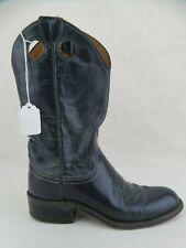 JUSTIN BOOTS Roper Navy Blue Sz 5.5 A Women Cowboy Boots