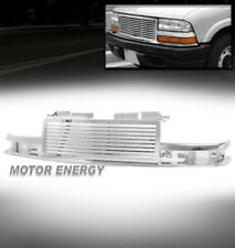 98-04 CHEVY S10/98-05 BLAZER HORIZONTAL MAIN UPPER HOOD GRILLE GRILL ABS CHROME