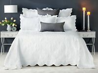 Bianca Shayla White Bedspread Set in All Sizes