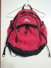 High Sierra Suspension Red And Black Large Backpack Adult & Child Laptop School