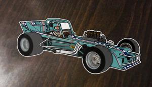 Jim Shampine - 8 Ball Offset Supermodified - Custom Art sticker