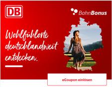 Bahn Gutschein 15 Euro Coupon