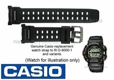 Genuine CASIO G-9000, G-9000-1, G 9000, G9000 G-Shock Watch Strap Band - Black