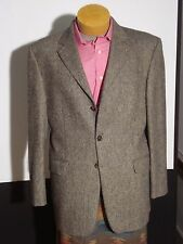 Burberry Kensington 3 Button Multi-Color Tic Weave Wool Sport Coat Sz. 42R MINTY