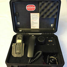 Globalstar GSP 1600 Tri-Mode Satellite Phone & GCK 1410 Car Kit & DC Kit NO BATT