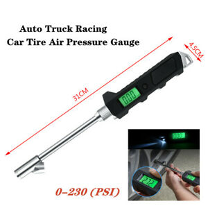 1X Car Motorcycle Truck recision Tire Tyre Air Pressure Gauge With Lighting Part