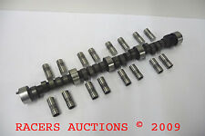 SBC CHEVY 3555 CAM SOLID LIFTERS KIT 9:1 CAMSHAFT IMCA 251/248 .508/.508 LIFT