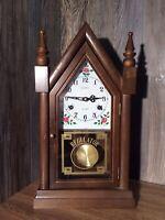 Vintage LeGant Regulator Mantle Or Wall Clock 31 Day Works Perfect K5
