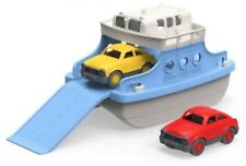 Bathtub Water Toys Floating Ferry Boat Cars Shower Bath Time Kids Toddler Blue