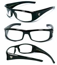 BioHazard Mens Designer Sunglasses Free Pouch - Clear BZ1