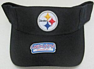 NFL Pittsburgh Steelers Black Youth Adjustable Visor By Reebok