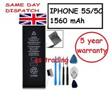 Genuine Replacement Battery For IPhone 5S 5C 1560mAh Zero Cycle  FREE Tools