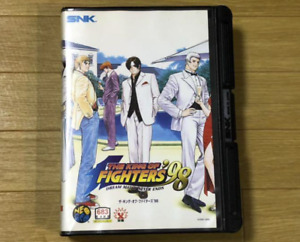 Neo Geo SNK  THE KING OF FIGHTERS 98 Neogeo  AES SNK Used From JAPAN