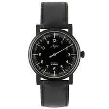 One Hand Luch Mechanical Men's Wristwatch. Stainless & Sapphire. PVD. 71957784