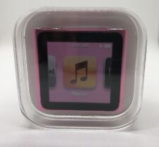 Apple iPod Nano 6th 6. generación rosa (8gb) Pink nuevo New sealed sellados rar