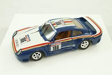 Rare cb.car cb Car Blue Porsche 959 1:24 Made Italy Model Car