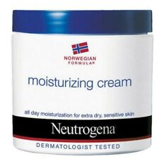 Neutrogena Norweign Formula Moisturizing Cream Sensitive Dry Skin Care 312g 1pc