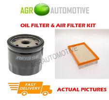 PETROL SERVICE KIT OIL AIR FILTER FOR FORD FOCUS C-MAX 1.6 101 BHP 2003-07