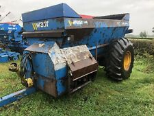 More details for west 1600 dual spreader fits tractor