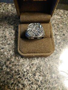 Masonic Blue Lodge Stainless Steel Size 12
