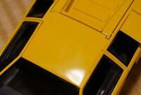 Kyosho 1/18 Lamborghini Countach LP 5000S Yellow die cast model With Box