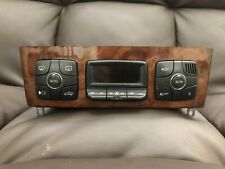 Mercedes-Benz W220 S420 S500 SL Climat Temperature Control Panel