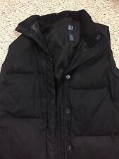 GAP Men's Large Black Puffer Vest Jacket